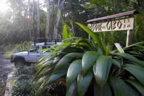 Bosque del Cabo entrance