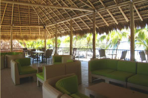 Flamingo beach Resort restaurant