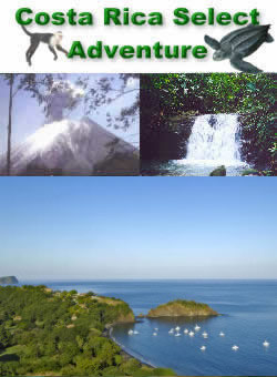 Costa Rica select adventure