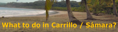 Carrillo / Samara beach