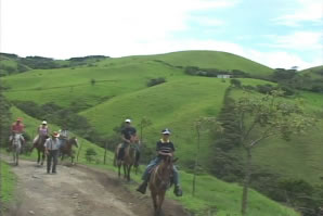 VIENTO FRESCO WATERFALLS HORSEBACK RIDING